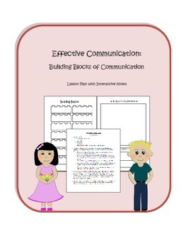 Effective Communication: Building Blocks Lesson