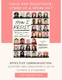 "Effective Communication: ""How I Resist"""