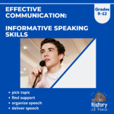 Effective Communication: Informative Speaking Skills for G