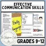 Effective Communication Skills Bundle for Grades 9-12 and