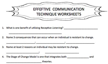 Effective Communication Techniques
