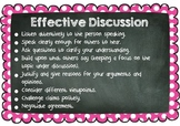 Effective Discussion Poster