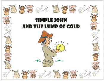 Effective Early Reading  - Simple John and the Lump of Gold