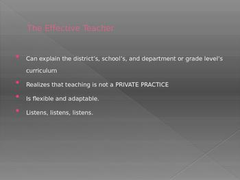 Effective Educators