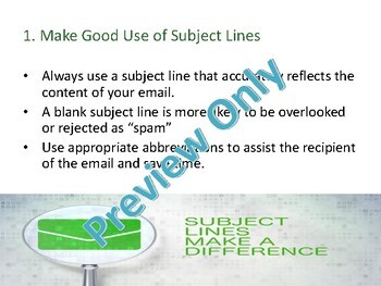 Effective Email Communication - Workplace Training Powerpoint