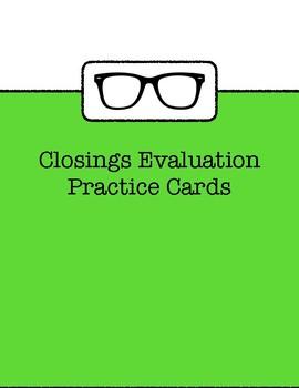 Effective & Engaging Closings Professional Development Pack