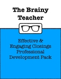 Effective & Engaging Closings Professional Development Pack
