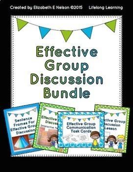 Effective Group Discussion Bundle