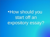 Effective HOOKS AQQS for Introduction of Essays Powerpoint