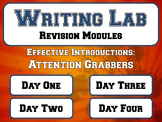 Effective Introductions: Attention Grabbers - Writing Lab Revision Module