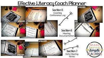 Effective Literacy Coach Planner