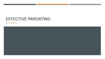 Effective Parenting & Development