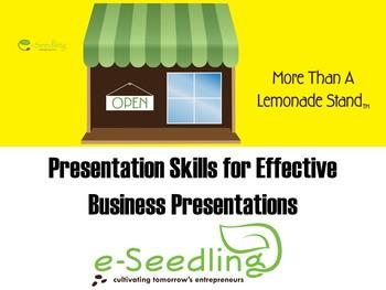 Effective Presentation Skills and Business Presentation Checklist