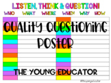 Effective Questioners Poster