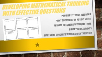 Effective Questions on Post-it Notes