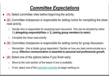 Effective Roles and Responsibilities for Group Collaboration