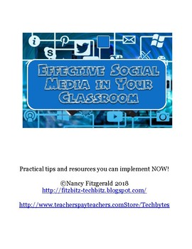 Effective Social Media in Your Classroom
