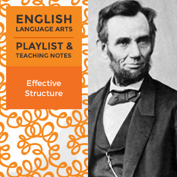 Effective Structure - Playlist and Teaching Notes