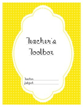 Effective Teacher Organization! Binder labels/covers for e