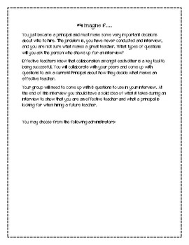 Effective Teachers Project