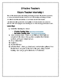 Effective Teachers Project
