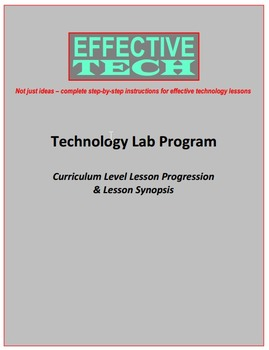Effective Tech Curriculum Level Lesson Progression & Lesso