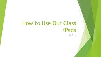 Effective Use of iPads