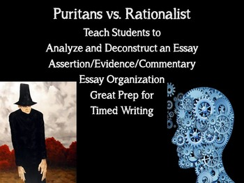 Effective Writing Instruction: Analyze and Deconstruct an Essay