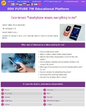 """Interactive lesson for study. Case """"Smartphone means every"""