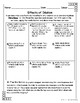 Effects of Dilations and Transformations Lesson for Interactive Notebooks