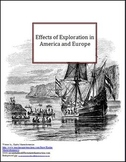 Effects of Exploration in America and Europe Lesson Plan