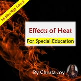 Effects of Heat Unit for Special Education with complete lesson plans