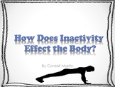Effects of Inactivity on the Body - PDF NoteBook