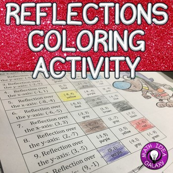Effects of Reflections Coloring Activity