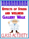 Psychology Effects of Stress & Wellness Gallery Walk  & Group Project Rubric