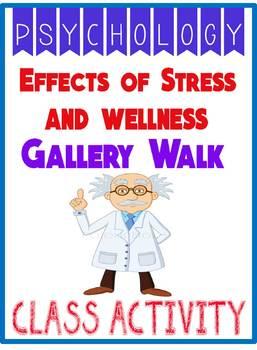 Effects of Stress & Wellness Psychology Gallery Walk  & Gr