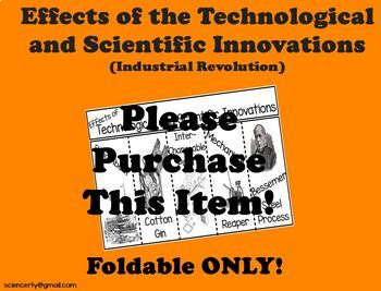 Effects of Technological and Scientific Innovations