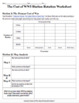 Effects of WWI Station Rotation with Worksheet
