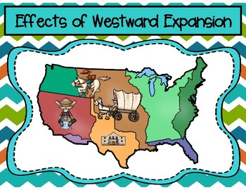 Effects of Westward Expansion Graphic Organizer