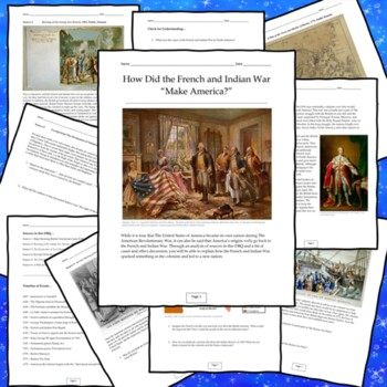Effects of the French and Indian War DBQ