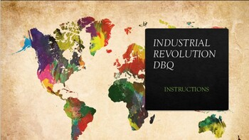 Effects of the Industrial Revolution DBQ