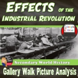 Effects of the Industrial Revolution PICTURE ANALYSIS Print & Digital
