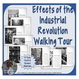 Effects of the Industrial Revolution Walking Tour or Gallery Walk Activity