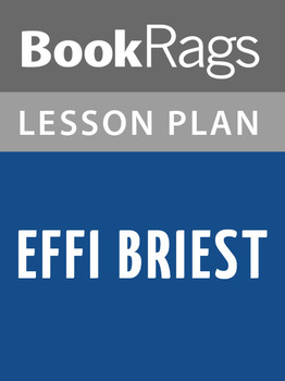 Effi Briest Lesson Plans