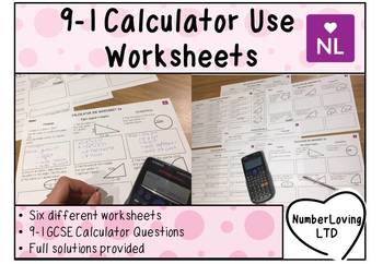 Efficient Calculator Use (Worksheet)