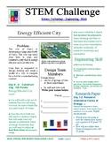 Efficient City STEM Challenge - 8th grade