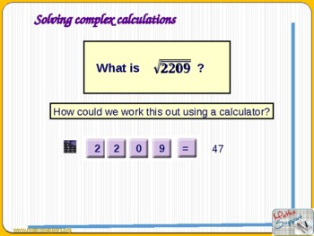 Efficient use of a scientific calculator