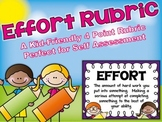 Effort Rubric