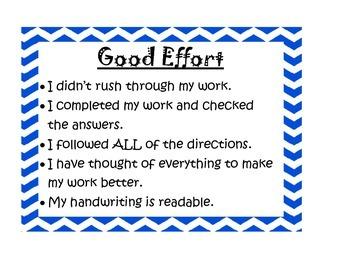 Effort Signs