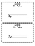 Egg Addition Story Problems Book